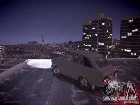IZH 2125 Kombi for GTA 4 back left view