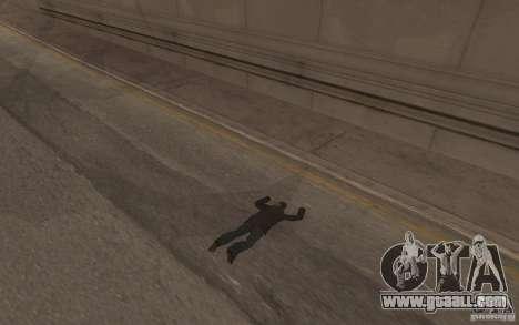 Global fashion parachute for GTA San Andreas sixth screenshot