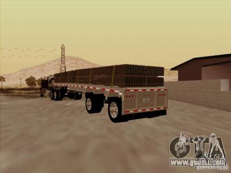Trailer Artict1 for GTA San Andreas back left view