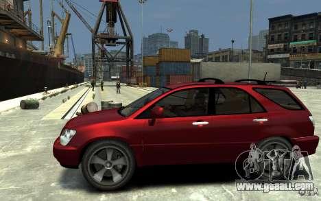 Lexus RX300 for GTA 4 left view