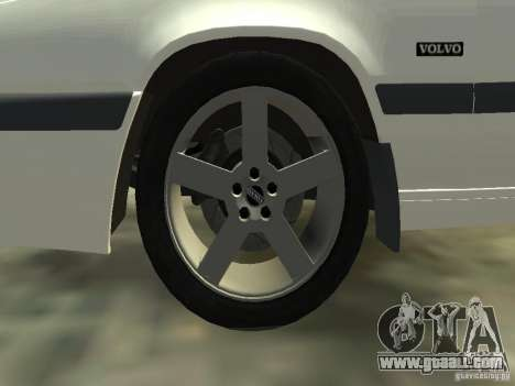 Volvo 850 R 1996 Rims 2 for GTA 4 upper view