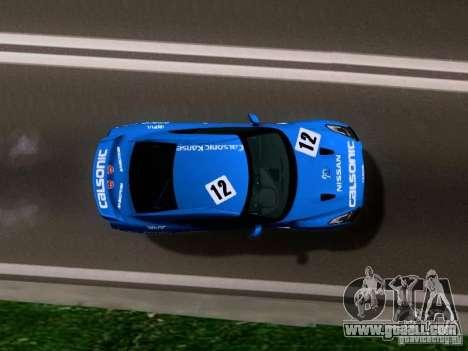 Nissan GTR 2010 Spec-V for GTA San Andreas right view