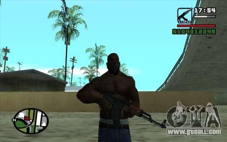 Kalashnikov Modernized for GTA San Andreas fifth screenshot