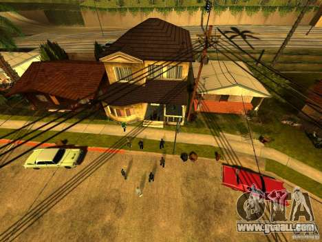 Party area for GTA San Andreas