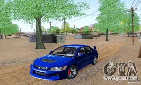Mitsubishi Lancer Evolution 9 MR Edition for GTA San Andreas