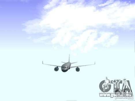 Boeing 757-200 United Airlines for GTA San Andreas inner view