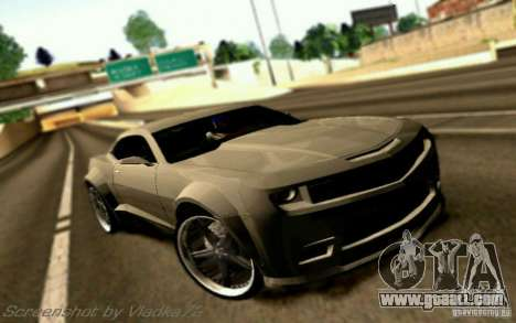 Chevrolet Camaro Tuning for GTA San Andreas