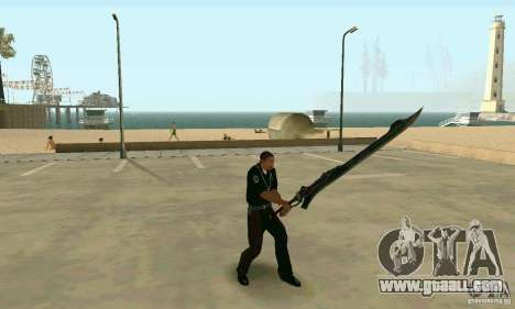 Sword of Nero in Devil May Cry 4 for GTA San Andreas