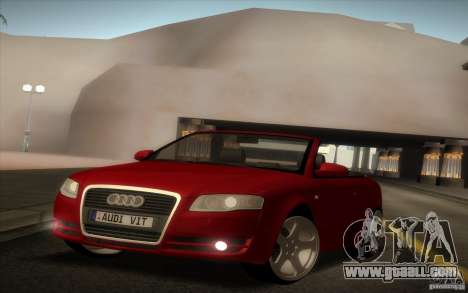 Audi A4 Cabrio for GTA San Andreas