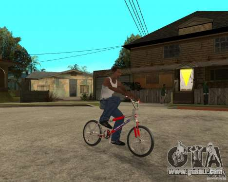 Skyway BMX for GTA San Andreas right view