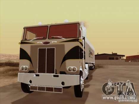 Peterbilt 352 for GTA San Andreas left view