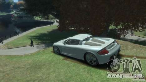 Porsche Carrera GT for GTA 4 left view