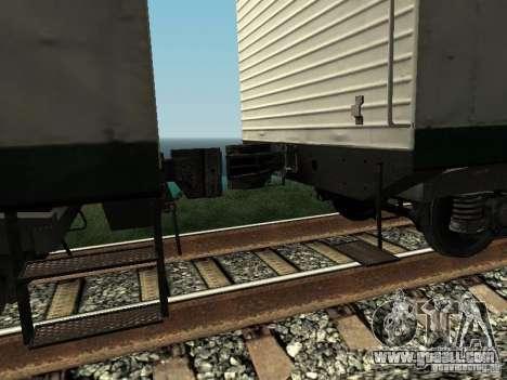 Refrežiratornyj wagon Dessau No. 5 prima audit for GTA San Andreas right view