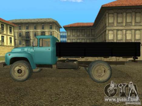 ZIL 130 Onboard for GTA San Andreas back left view