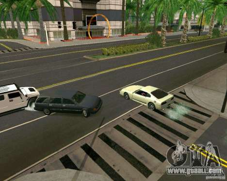 GTA 4 Road Las Venturas for GTA San Andreas fifth screenshot