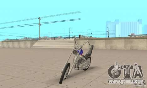 Captain America Chopper for GTA San Andreas
