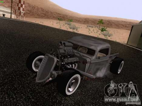 Ford Pickup Ratrod 1936 for GTA San Andreas