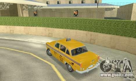 Checker Marathon 1977 Taxi for GTA San Andreas left view