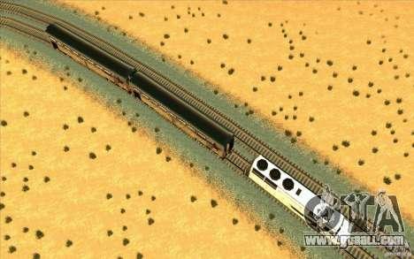 Unhooking of wagons for GTA San Andreas third screenshot
