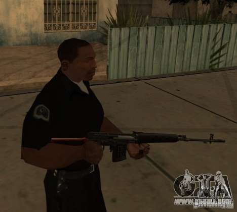 Pak Domestic Weapons Upgraded for GTA San Andreas