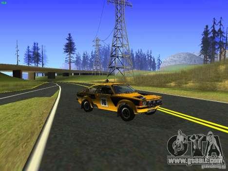Opel Kadett for GTA San Andreas right view