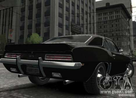 Chevrolet Camaro SS 350 1967 for GTA 4 right view