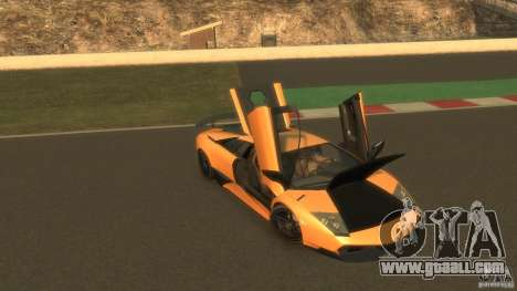 Lamborghini Murcielago VS LP 670 FINAL for GTA 4 side view