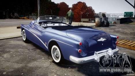 Buick Skylark Convertible 1953 v1.0 for GTA 4 right view