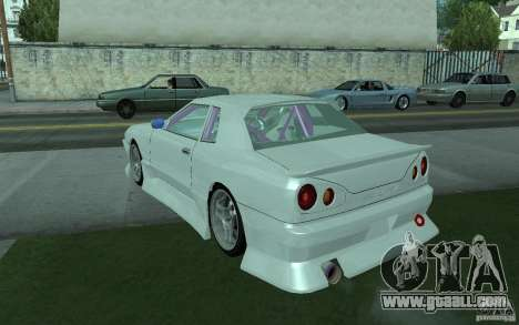 Elegy MS R32 for GTA San Andreas back view