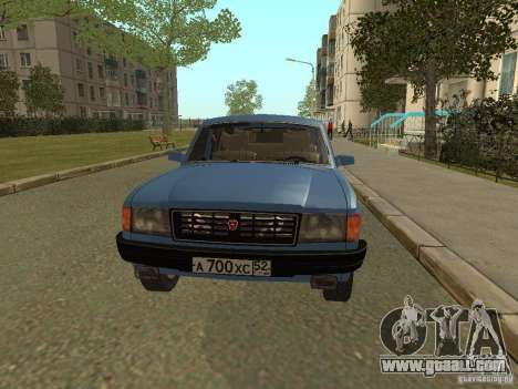 GAZ Volga 31022 for GTA San Andreas left view