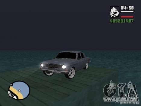 Gaz 2410 Tuning for GTA San Andreas