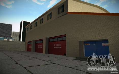 HD Fire Department for GTA San Andreas forth screenshot