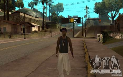 The Ballas Gang [CKIN PACK] for GTA San Andreas third screenshot
