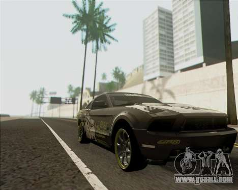 Ford Mustang Boss 302 for GTA San Andreas back left view