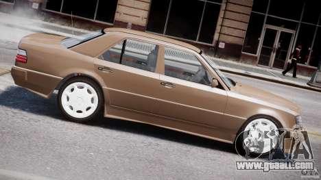 Mercedes-Benz W124 E500 1995 for GTA 4 engine