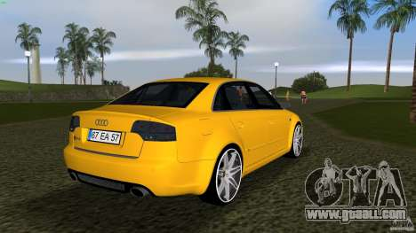 Audi RS4 for GTA Vice City right view