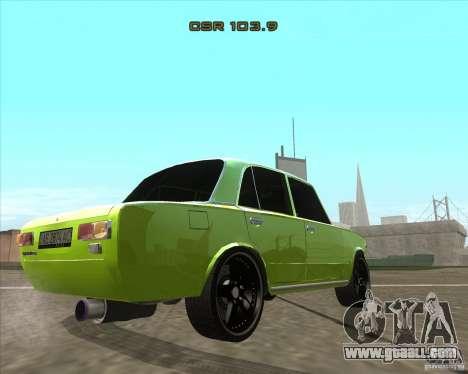 VAZ 2101 car tuning version for GTA San Andreas left view
