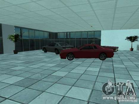 More cars at the motor show in Dougherty for GTA San Andreas forth screenshot