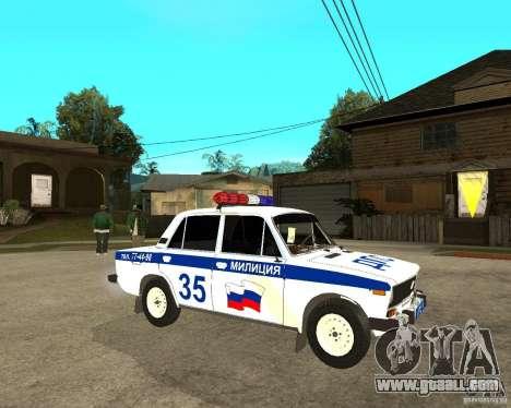 VAZ 2106 DPS for GTA San Andreas