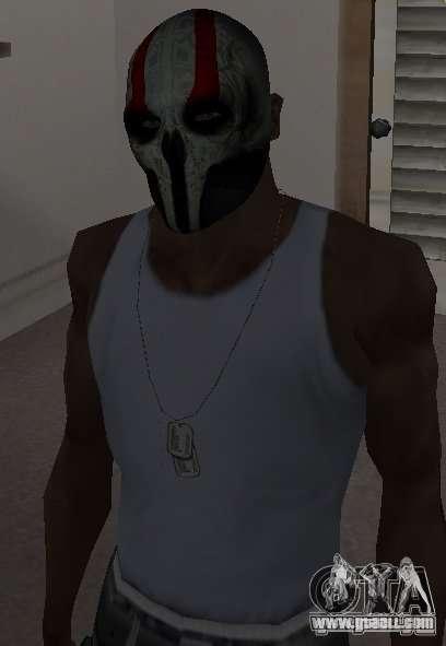 Army of Two Mask Skull for GTA San Andreas third screenshot