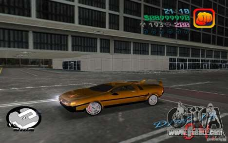 Delorean DMC-13 for GTA Vice City
