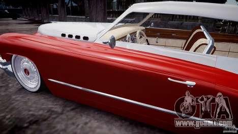 Buick Custom Copperhead 1950 for GTA 4 side view