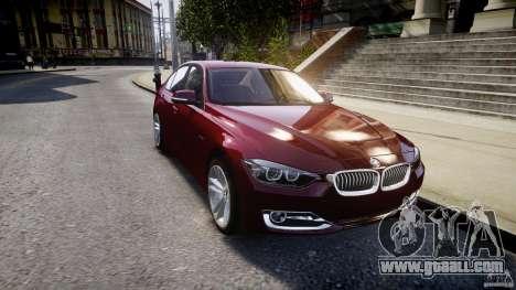 BMW 335i 2013 v1.0 for GTA 4 side view