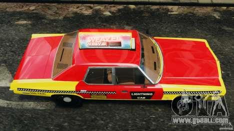 Dodge Monaco 1974 Taxi v1.0 for GTA 4 right view