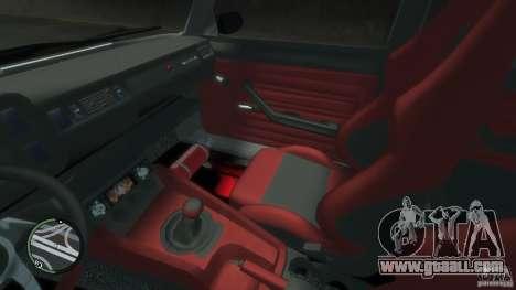 VAZ 2104 Tuning for GTA 4 bottom view