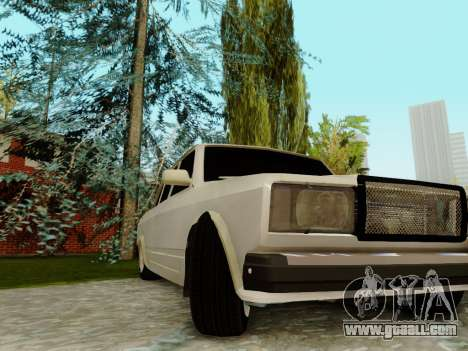 VAZ 2107 for GTA San Andreas engine