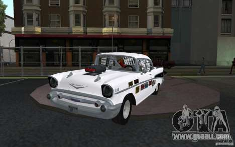 Chevrolet BelAir Bloodring Banger 1957 for GTA San Andreas