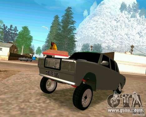 VAZ 2107 Full for GTA San Andreas