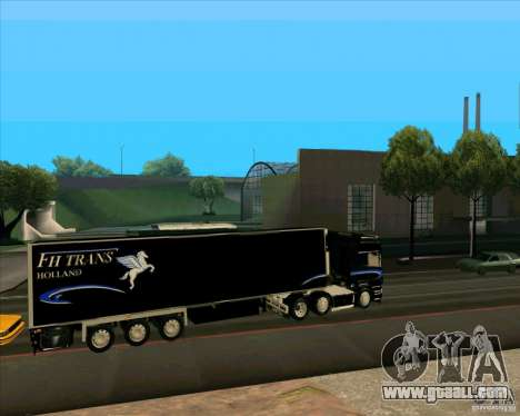 Trailer to the Scania R620 Pimped for GTA San Andreas left view