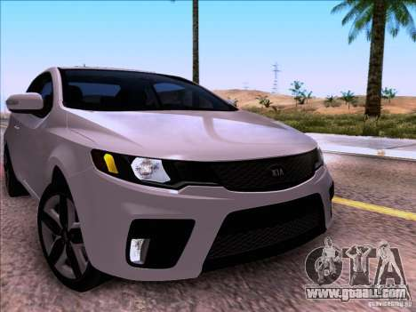 Kia Forte Koup SX for GTA San Andreas right view